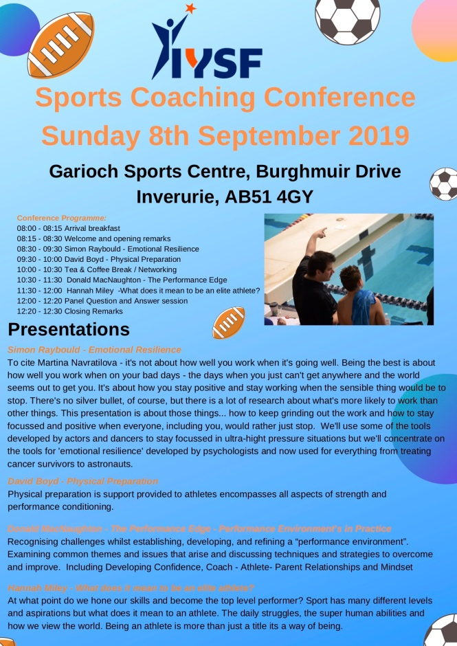 IYSF Sports Coaching Conference 2019
