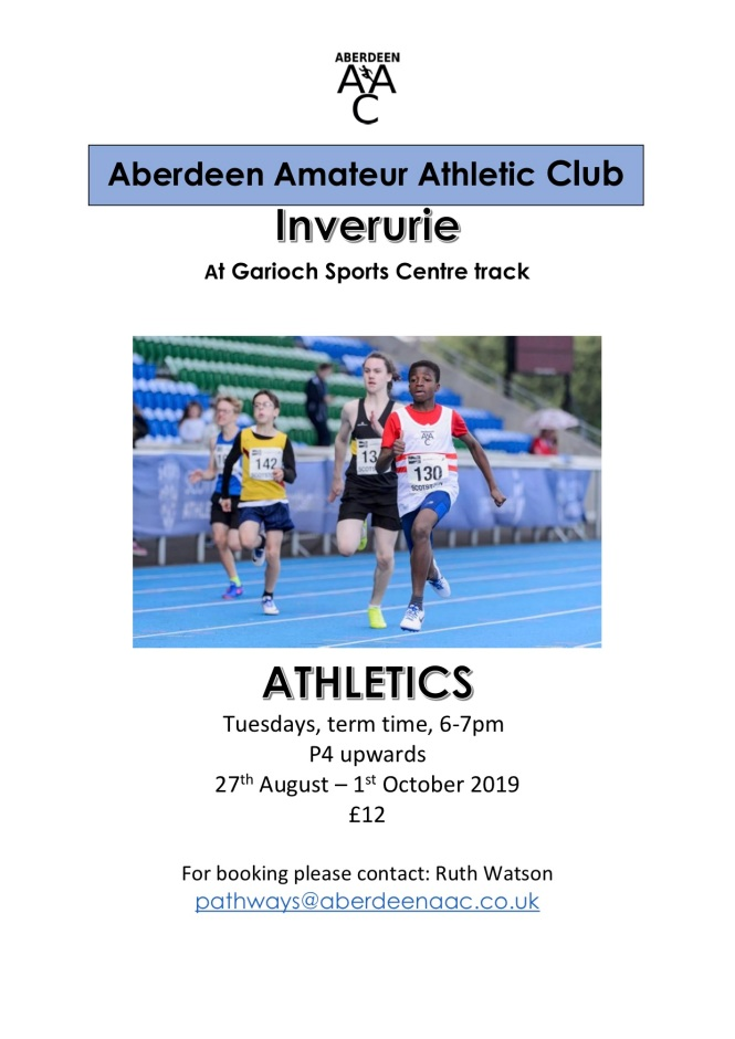 Garioch Sports Centre track 8