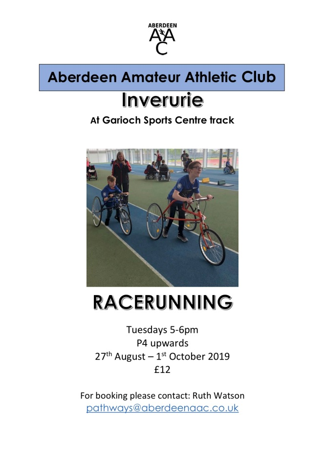 Garioch Sports Centre track 9