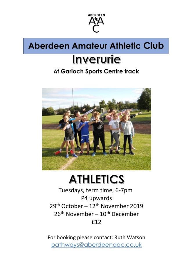 Garioch Sports Centre track 10