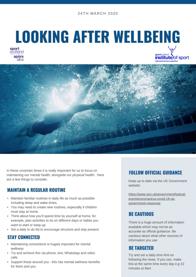SIS factsheet Looking after wellbeing sportscotland 24Mar20 (dragged)