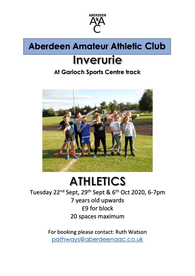 Garioch Sports Centre track 13